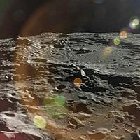 Фото Луны высокого разрешения, переданное Кагуя